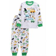 20-14581-4 Пижама для мальчика, 1-4 года, зеленый