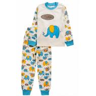 20-14581-5 Пижама для мальчика, 1-4 года, молочный