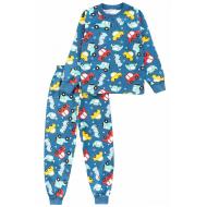 20-1486-5 Пижама утепленная для мальчика, 3-7 лет, джинсовый
