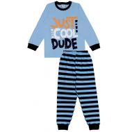 20-149213 Пижама для мальчика, 7-11 лет, голубой