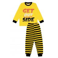 20-149214 Пижама для мальчика, 7-11 лет, желтый