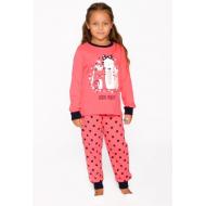 20-149225 Пижама для девочки, 7-11 лет, арбузный