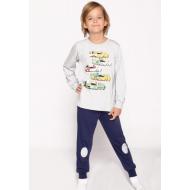 20-1548-2 Пижама для мальчика, 3-7 лет, меланж