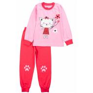 20-15482-3 Пижама для девочки, 3-7 лет, розовый