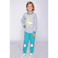 20-1548-4 Пижама для мальчика, 3-7 лет, зеленый