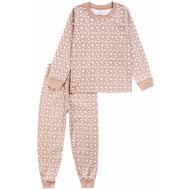 20-15491-3 Пижама для мальчика, 2-5 лет, бежевый