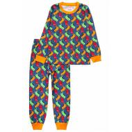 20-15491-4 Пижама для мальчика, 2-5 лет, джинсовый