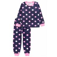 20-1549-2 Пижама для девочки, 2-5 лет, т-синий