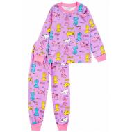 20-1549-3 Пижама для девочки, 2-5 лет, сиреневый