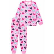 20-1549-4 Пижама для девочки, 2-5 лет, розовый