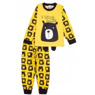 20-977-3 Пижама для мальчика, 3-7 лет, желтый