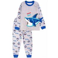20-977-5 Пижама для мальчика, 3-7 лет, меланж