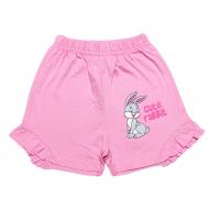 20-102204 Шорты для девочки, 4-8 лет, розовый