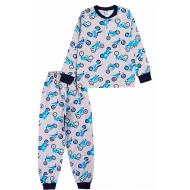 20-135412 Пижама для мальчика, 7-11 лет, меланж