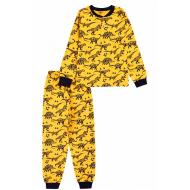 20-135414 Пижама для мальчика, 7-11 лет, желтый
