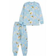 20-135424 Пижама для девочки, 7-11 лет, голубой