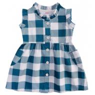 20-2802P Платье для девочки, 1-4 года, зеленый