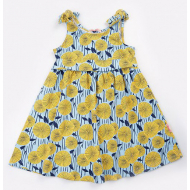 20-50381 Платье для девочки, 3-7 лет, голубой