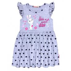 20-116802 Платье для девочки, 3-7 лет, меланж