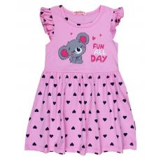 20-116805 Платье для девочки, 3-7 лет, розовый