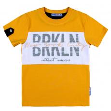 20-14494 Футболка для мальчика, 3-7 лет, желтый