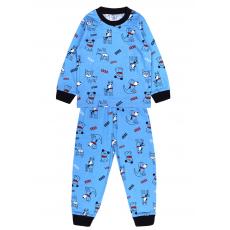 20-300012 Пижама для мальчика, 2-6 лет, голубой