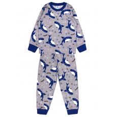 20-300014 Пижама для мальчика, кулир, 2-6 лет, меланж