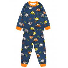 20-300015 Пижама для мальчика, кулир, 2-6 лет, индиго