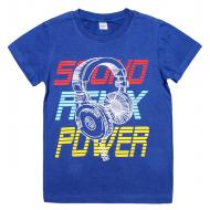 45-8120107 Футболка для мальчика, 8-12 лет, электрик
