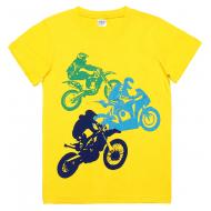 45-8120108 Футболка для мальчика, 8-12 лет, желтый