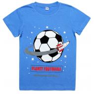 45-8120112 Футболка для мальчика, 8-12 лет, васильковый