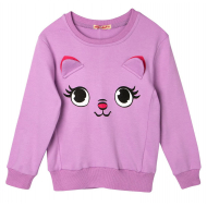 """20-122222D """"Pretty Muzzle"""" Джемпер для девочки, 2-5 лет, фиолетовый"""