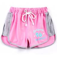 20-13463 Шорты для девочки, 8-12 лет, розовый