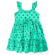 20-14365 Платье для девочки, 2-6 лет, ментол