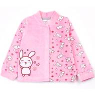 20-3992 Кофточка велюровая для малышей, 62-80, розовый