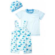 20-4743 Комплект для малыша (3 предмета), 62-80, голубой