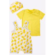 20-4745 Комплект для малышки (3 предмета), 62-80, желтый