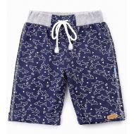 20-4765 Удлиненные шорты для мальчика, 2-5 лет, т-синий