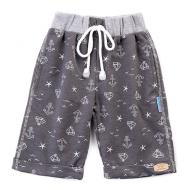 20-4761 Удлиненные шорты для мальчика, 2-5 лет, графитовый