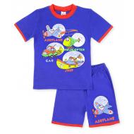 20-00403 Костюм для мальчика, 1-4 года, синий