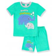 020-00410 Костюм для мальчика, 1-4 года, зеленый