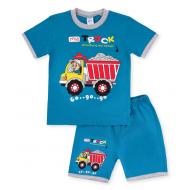 20-00402 Костюм для мальчика, 1-4 года, индиго