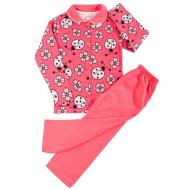 20-01224 Пижама для девочки, коралловый