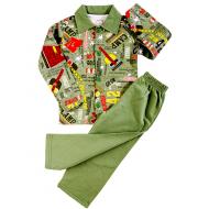 20-01225 Пижама для мальчика, хаки