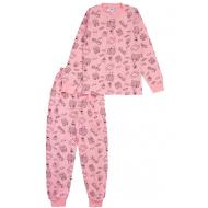 20-13542 Пижама для девочки, 7-11 лет, розовый
