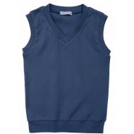 20-13654  Жилет для мальчика, 7-11 лет, джинсовый