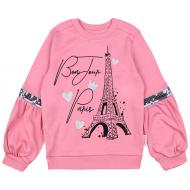 20-13742 Джемпер для девочки, 3-7 лет, розовый