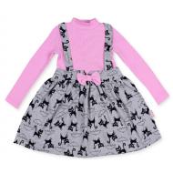 20-13774 Платье для девочки, 2-6 лет, розовый