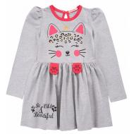 20-137804 Платье для девочки, 3-7 лет, меланж
