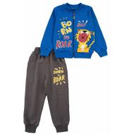 20-13841 Костюм для мальчика, 2-6 лет, синий
